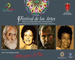 AFICHE FESTIVAL DE LAS ARTES